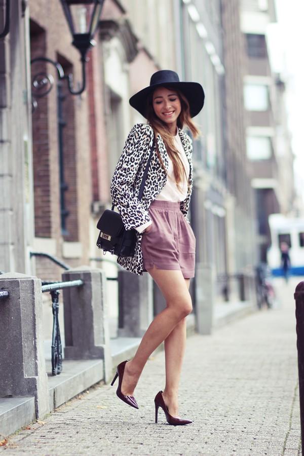 preppy fashionist blogger blouse bag