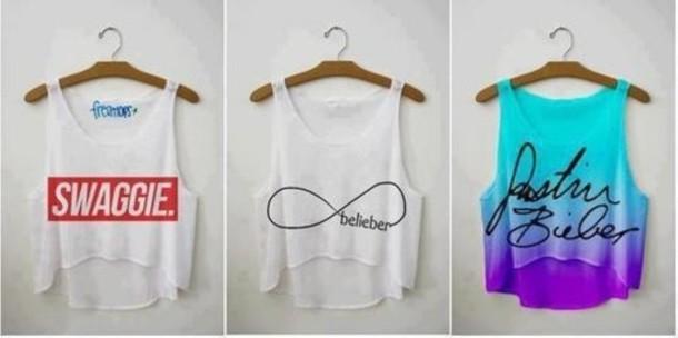 Swag Shirts Tumblr Shirt Justin Bieber Swag