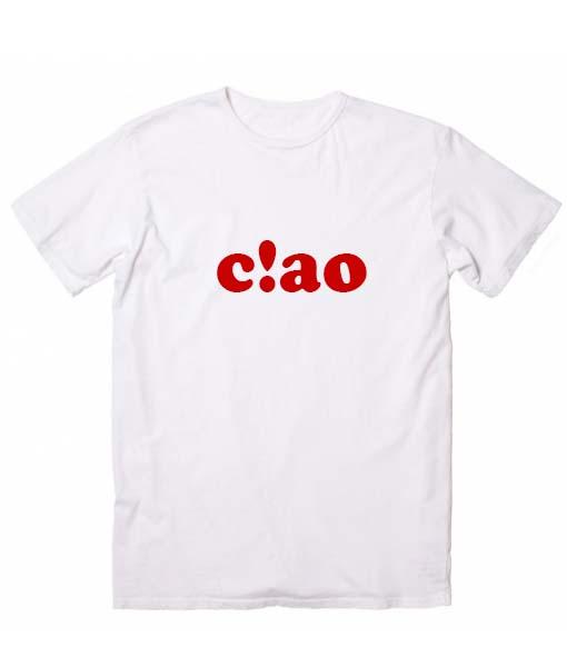 Ciao Tshirts Hipster T-Shirt Custom T Shirts No Minimum