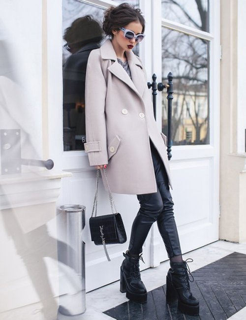Women's Pretty Loose-Fitting Cashmere Coat