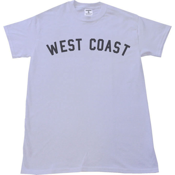 Miley WEST COAST T-shirt Womens Streetwear Cyrus We Can't St... - Polyvore