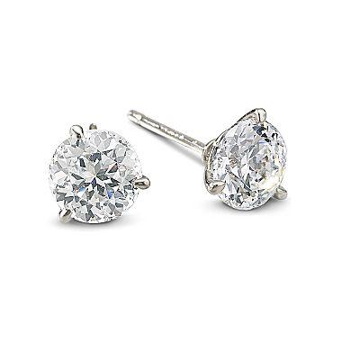 Diamonart® 3 ct. t.w. cubic zirconia earrings