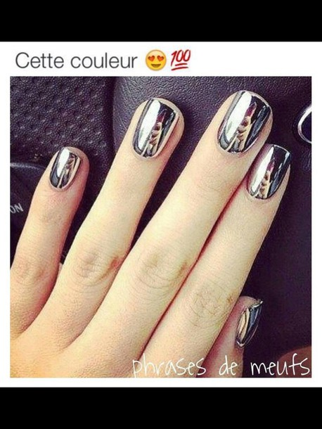 how to get mirror nails
