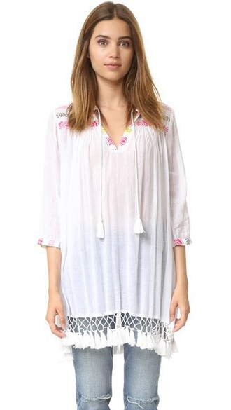 tunic pink top
