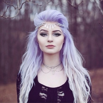 jewels headjewels head head jewels style grunge jewelry grunge indie pastel hair