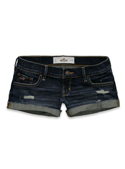 Hollister 'Bolsa Chica' Jeans-Shorts - iShopStyle