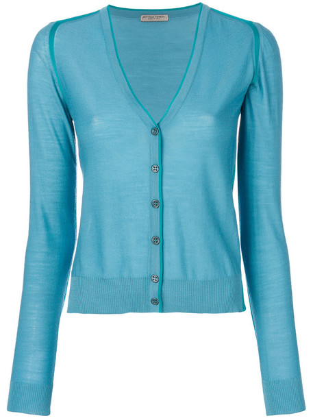 Bottega Veneta cardigan cardigan women blue wool sweater