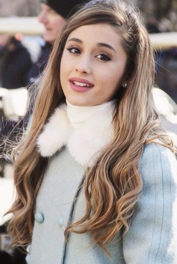 jacket ariana grande bluejacket