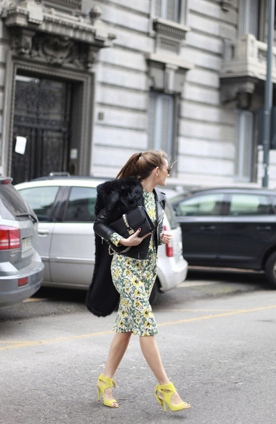 b a r t a b a c blogger dress jacket shoes bag sunglasses