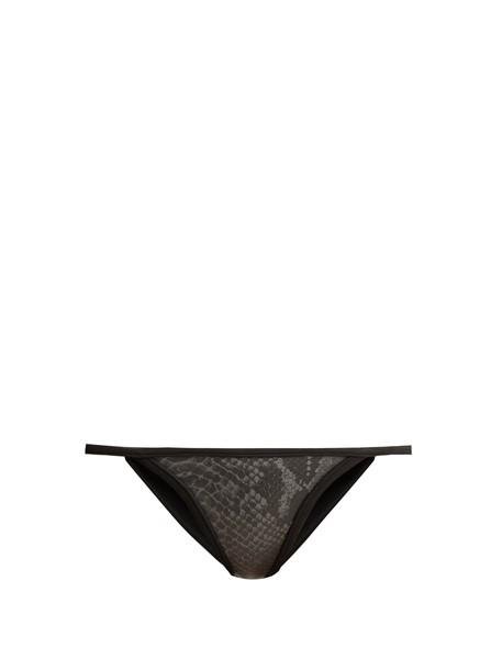 DOS GARDENIAS bikini neoprene bikini neoprene grey swimwear