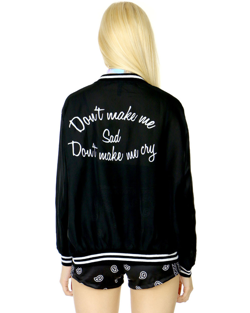 Don't make me sad jacket at shop jeen