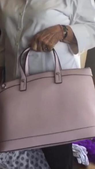 bag pink bag designer bag