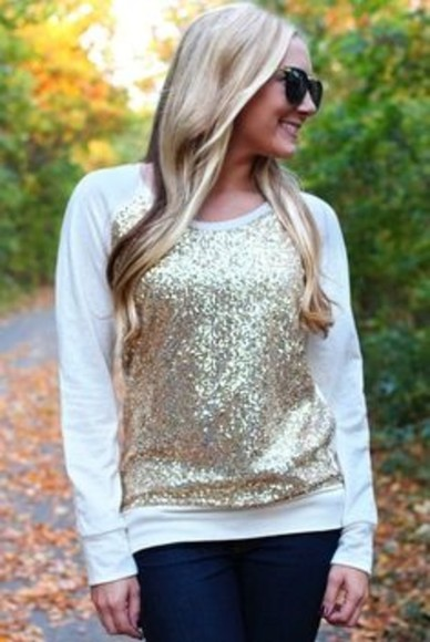 sequin sweater sweater sweater with patches, sequin, cream, gold sequin sweater sequin sweatshirt gold sequin sweather