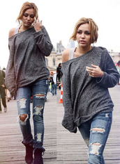 sweater,miley cyrus,jeans