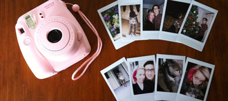 jewels fujifilm pink camera polaroid camera