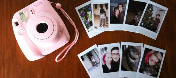 jewels fujifilm pink camera polaroid camera