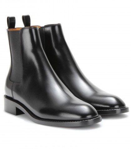 mytheresa.com - LEATHER CHELSEA BOOTS - Luxury Fashion for Women / Designer clothing