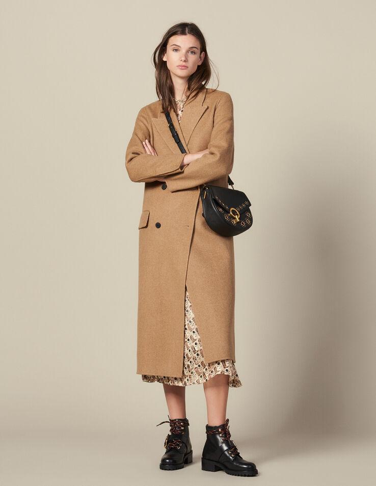 Long Double Faced Wool Coat