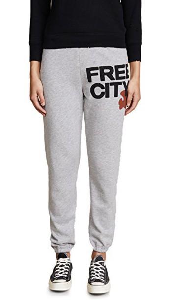 FREECITY sweatpants pants