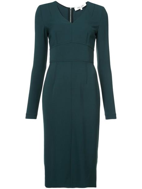 Dvf Diane Von Furstenberg dress women green