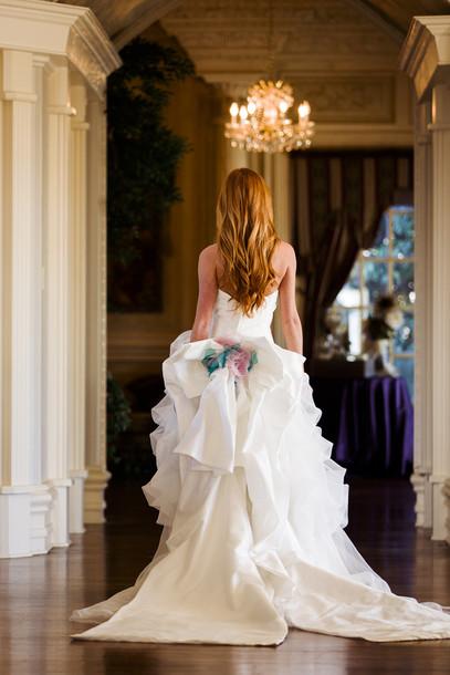 dress, oversized bow dress, oversized bow, wedding clothes, wedding ...