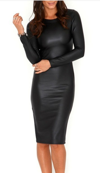 LIKE LEATHER DRESS  / Big Momma Thang