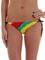 Roxy be hippie brazilian string bikini bottom in rasta