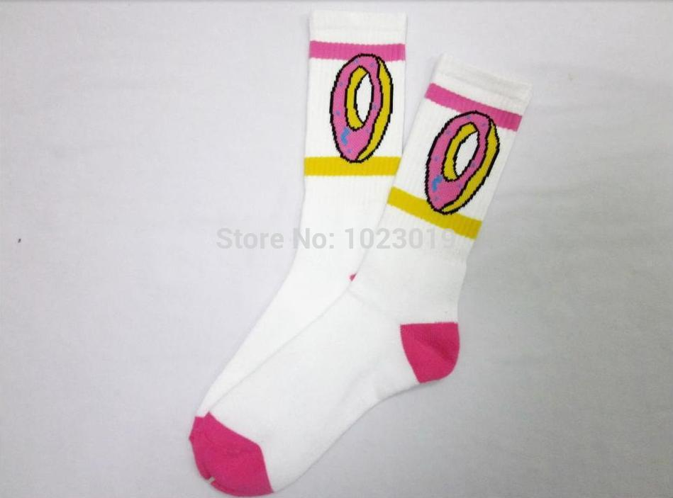13571f102cd0 Odd Future Socks High Quality Thicken Version Odd Future Donut Socks For  Hip Hop Girls Boys ...