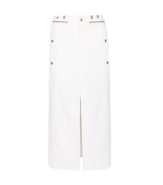 skirt denim skirt denim white