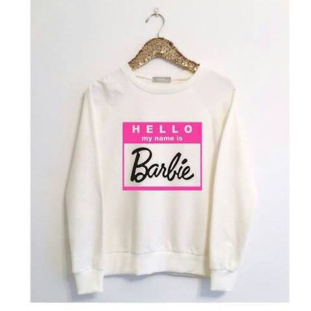 sweater barbie