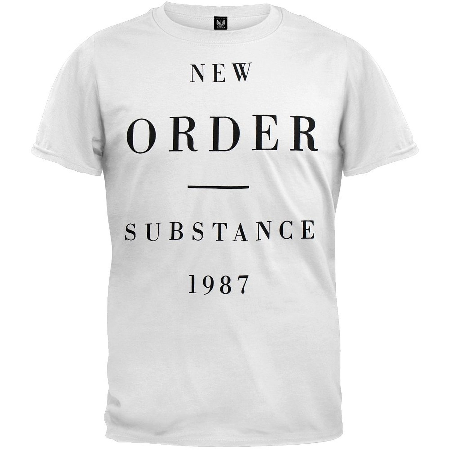 Amazon.com: New Order Substance 1987 Mens T-shirt: Clothing