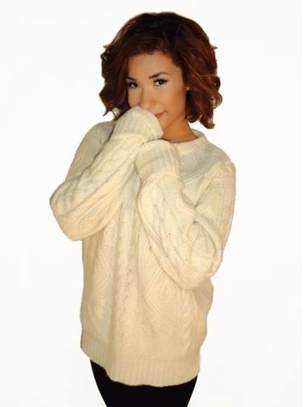 fashion vintage scotty mcgregor cashmere fall sweater