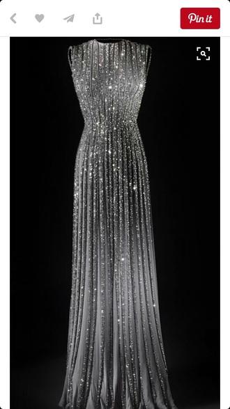 dress beaded dress long dress ball gown dress