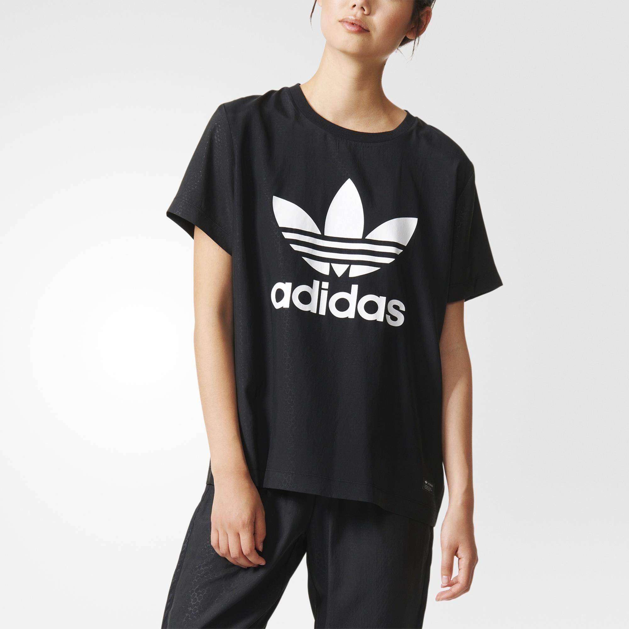 adidas t shirt nera