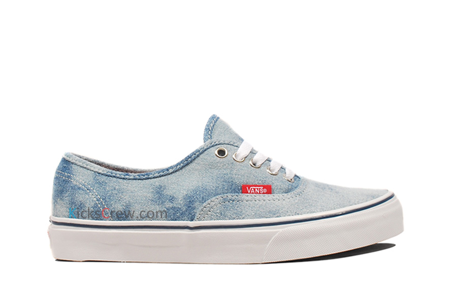 Vans Light Pink VANS Authentic Denim - Blue