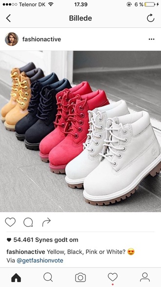 shoes boots flat boots timberlands