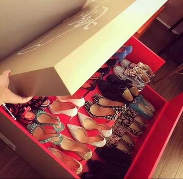 e85b92af3a7 christian louboutin shoe box organizer