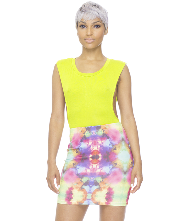 DO OR TIE DYE Body Con Skirt – FLYJANE