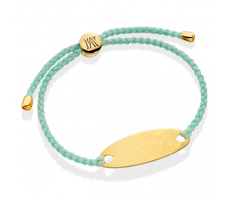 Bali Friendship Bracelet in 18ct Gold Plated Vermeil on Sterling Silver | Jewellery by Monica Vinader
