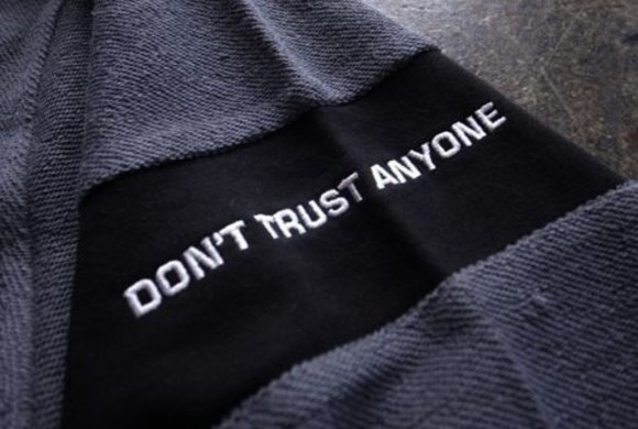 tumblr black embroidered hoodie sweater patch quote on it helpmetofindit help me please! hoodie jacket needshelp sweater/sweatshirt jacket,hoodie,sweatshirt,black quote grey don't trust anyone