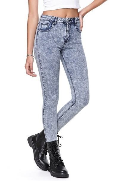 d1d9e130 MOTO Bleach Acid Leigh Jeans - Jeans - Clothing - Topshop