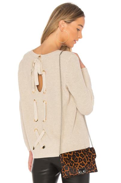 525 america sweater back beige