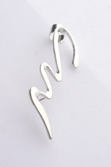 Snake Shape Right Ear Cuff - OASAP.com