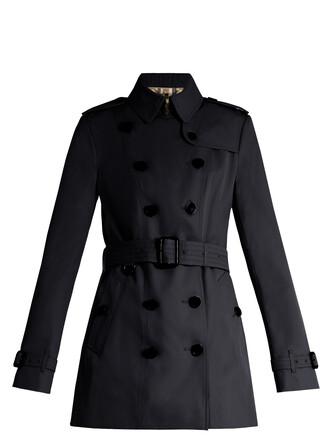 coat trench coat navy