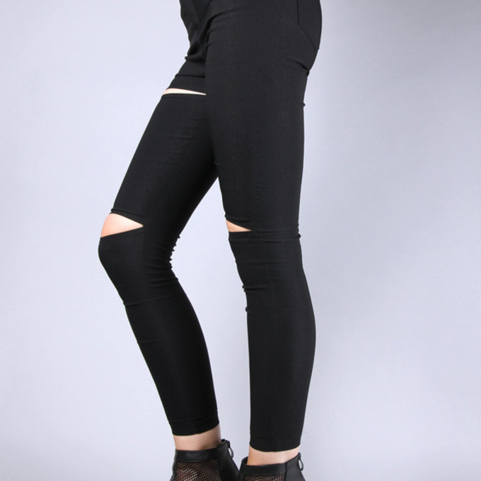 jeans grunge soft grunge black jeans ripped jeans pants cool pale ...