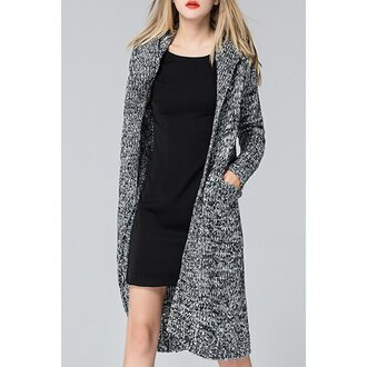 cardigan rose wholesale maxi long black streetwear boho casual chic