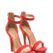 Living single stacked platform heels brightjade natural hotcoral taupe wine - gojane.com