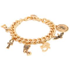 Egyptian lover charm bracelet