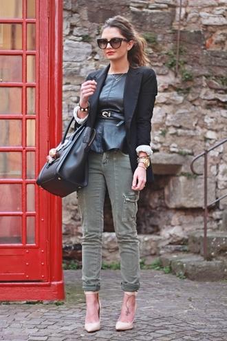 fashionhippieloves jacket shirt pants bag shoes sunglasses jewels belt