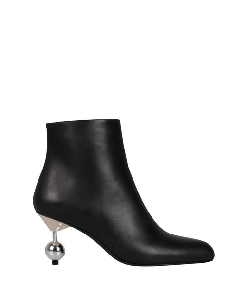 MARNI heel leather ankle boots ankle boots leather shoes